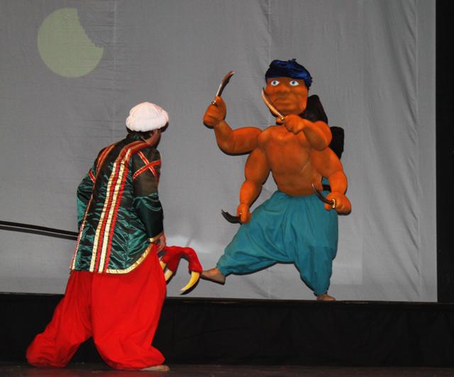 Sindbad Marinarul - premiera Teatrul Luceafarul