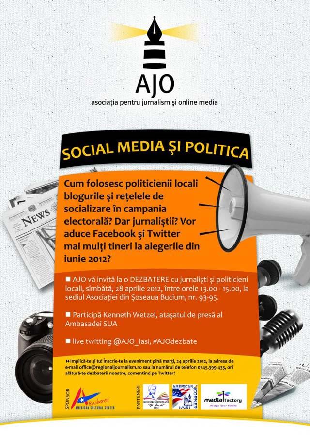 Social media in campania electorala - AJO