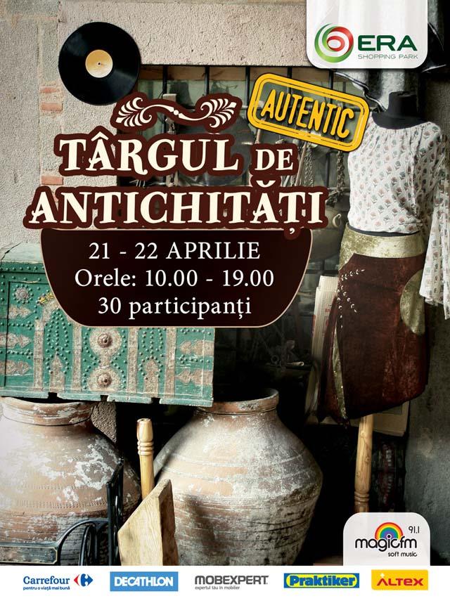 Targ de Antichitati la ERA Park, 21 - 22 aprilie