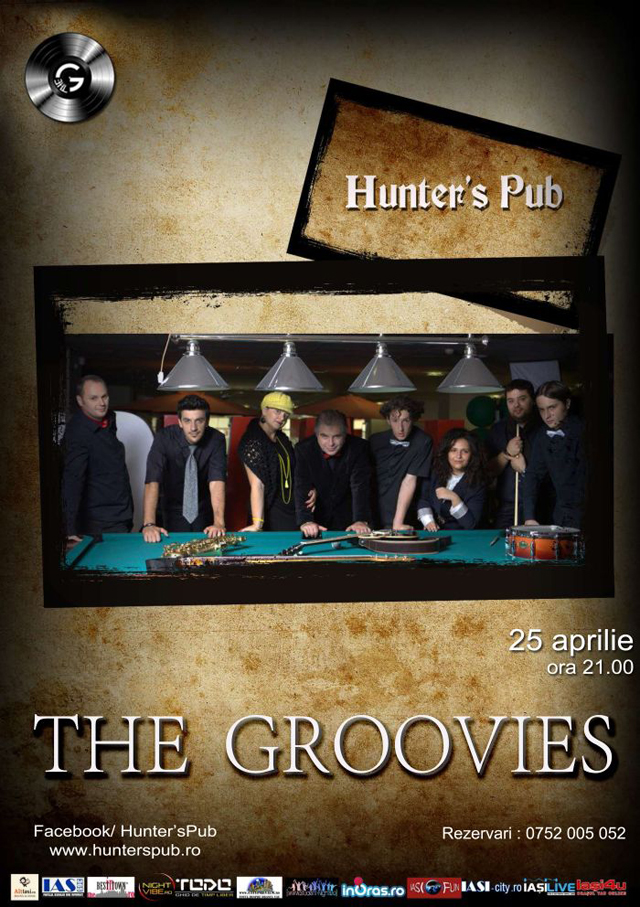 The Groovies - Hunters Pub