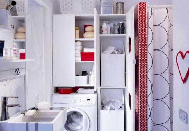 masina de spalat - nisa in perete