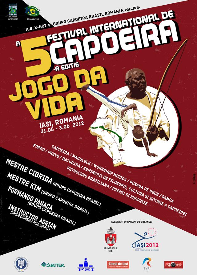 AFIS FESTIVAL CAPOEIRA - Iasi, 2012