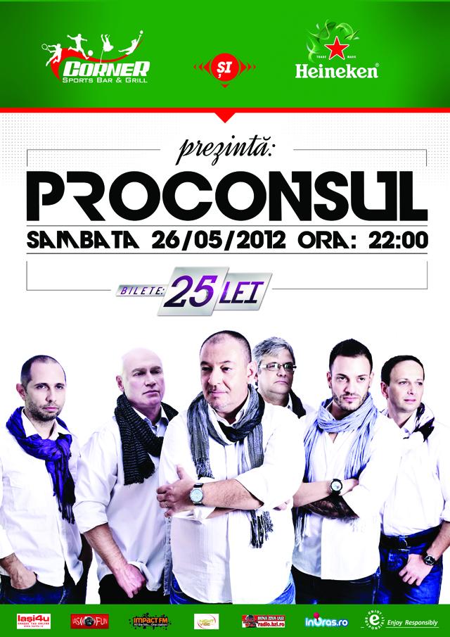 Afis Proconsul - Corner Bar