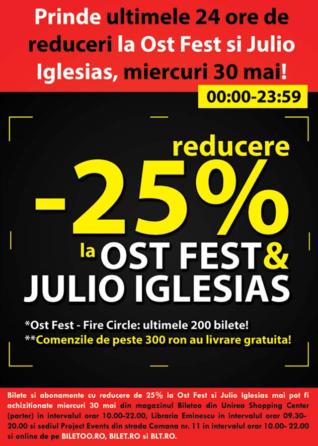 Afis promotie OST & JULIO