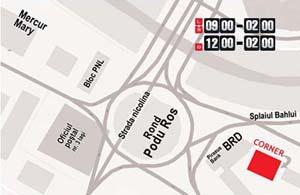 Corner Bar - locatie