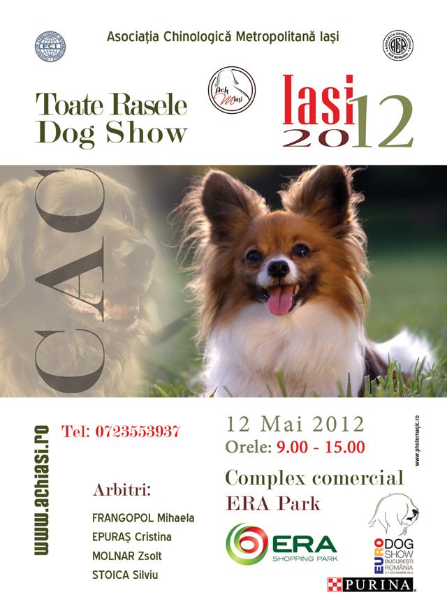 Expozitie Canina, 12 mai la ERA Park