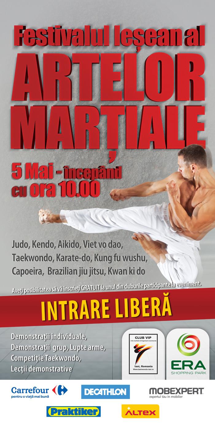 Afis Festival de Arte Martiale - Era Park