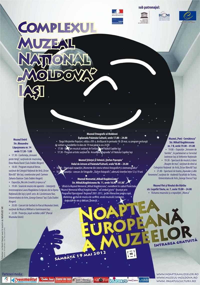 Noaptea Europeana a Muzeelor Iasi 2012