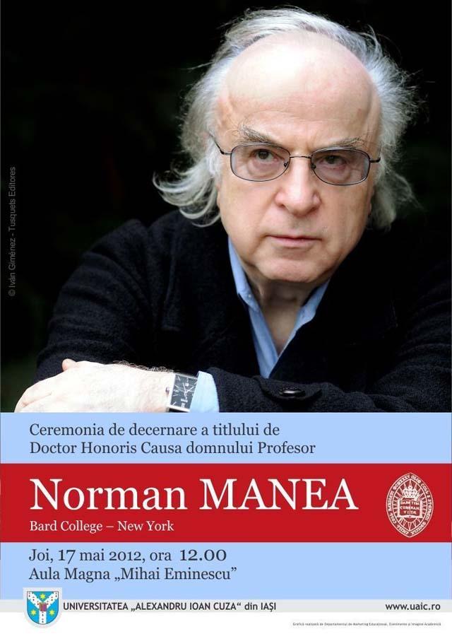 Norman_Manea la Iasi