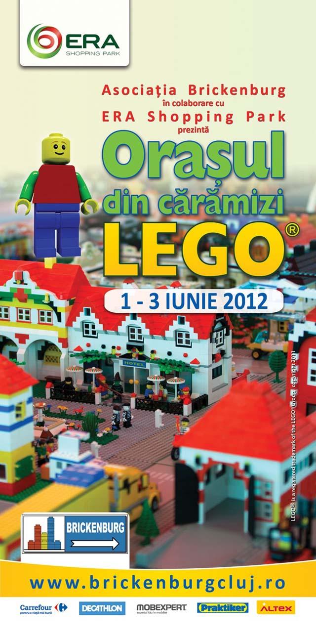 Orasul din caramizi Lego la Era Park