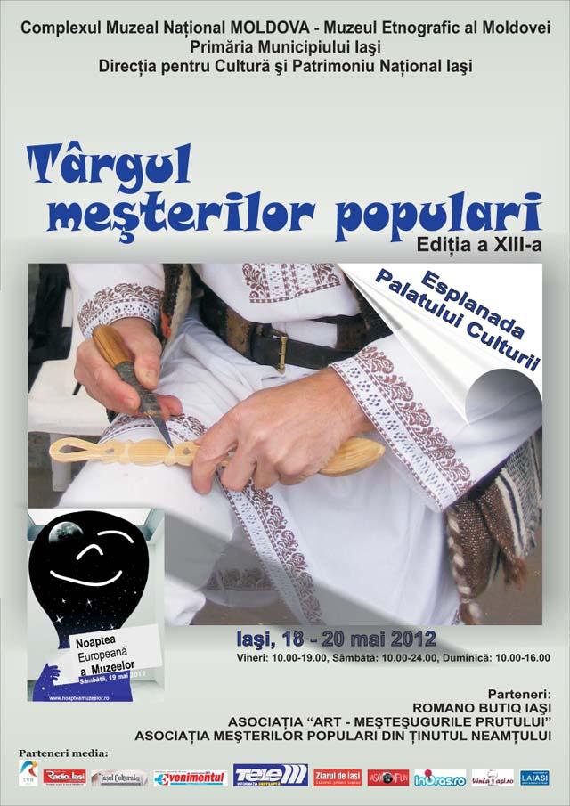 Tirgul Mesterilor Populari, 18-20 mai 2012