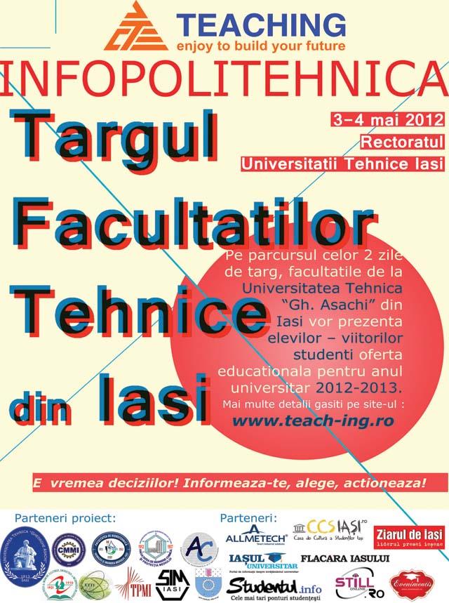 Tirgul facultatilor tehnice - Infopolitehnica