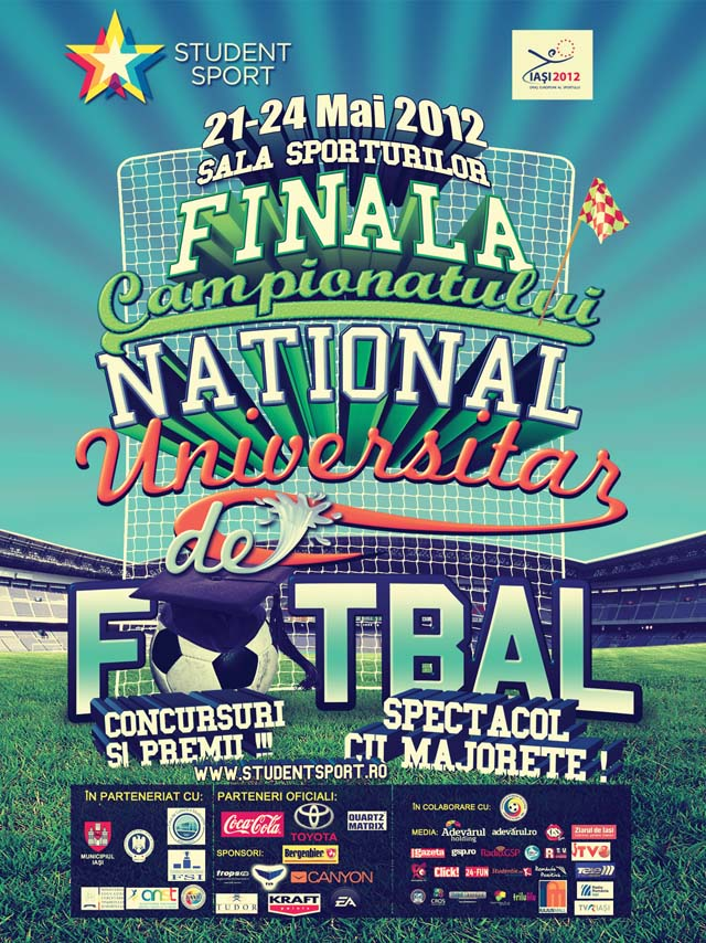 Turneul final universitar-fotbal