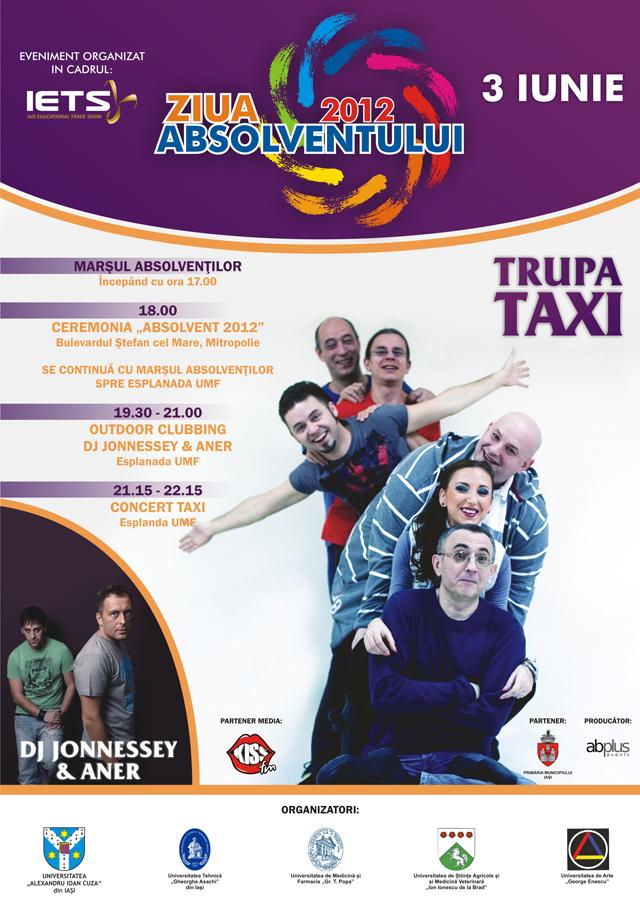 Ziua Absolventului  - concert Taxi