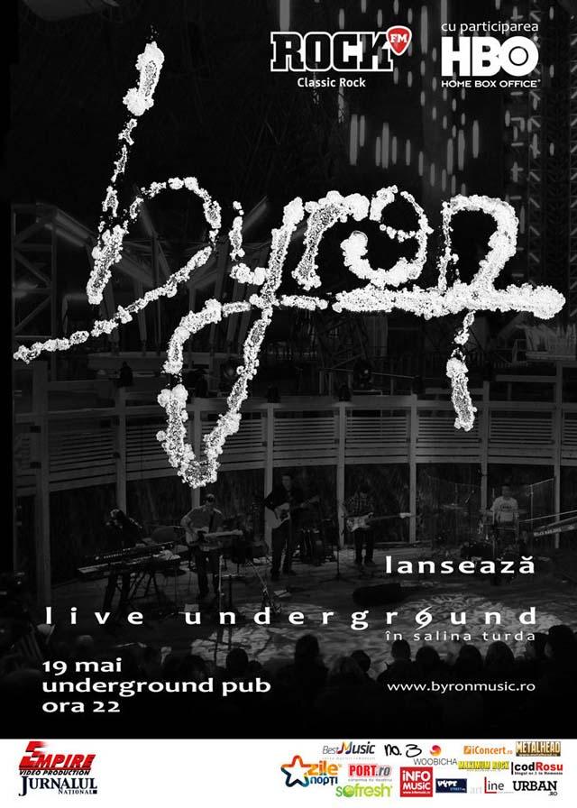 byron - live underground iasi