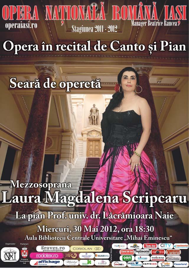 recital-laura-scripcaru - opera iasi