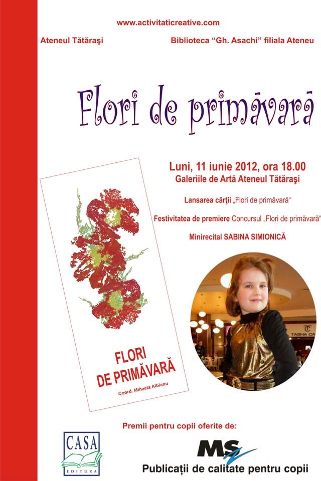 AFIS LANSARE  Flori de primavara
