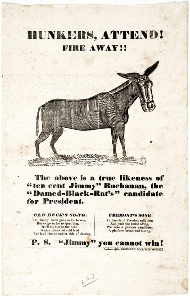 Afis campanie prezidentiala SUA 1