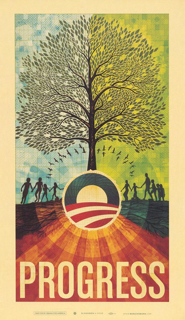 Afis campanie prezidentiala SUA 13
