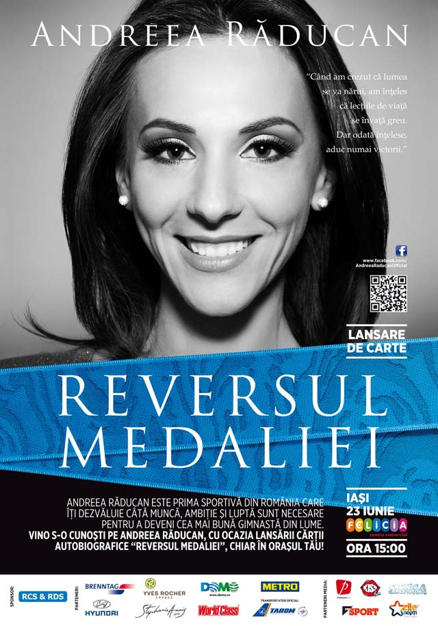 Andreea Raducan la Iasi - Reversul medaliei