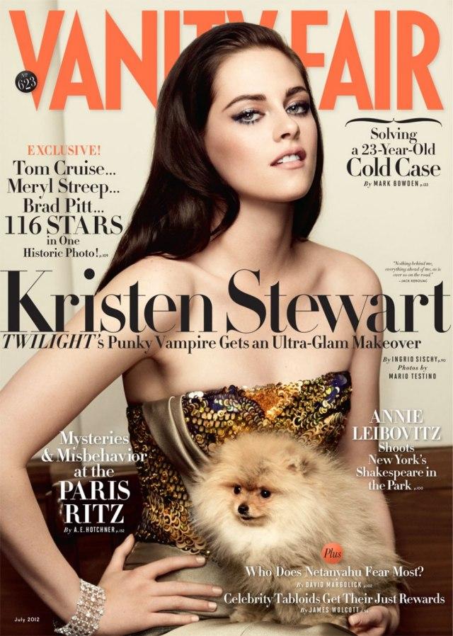 Coperta Vanity Fair - Kristen Stewart