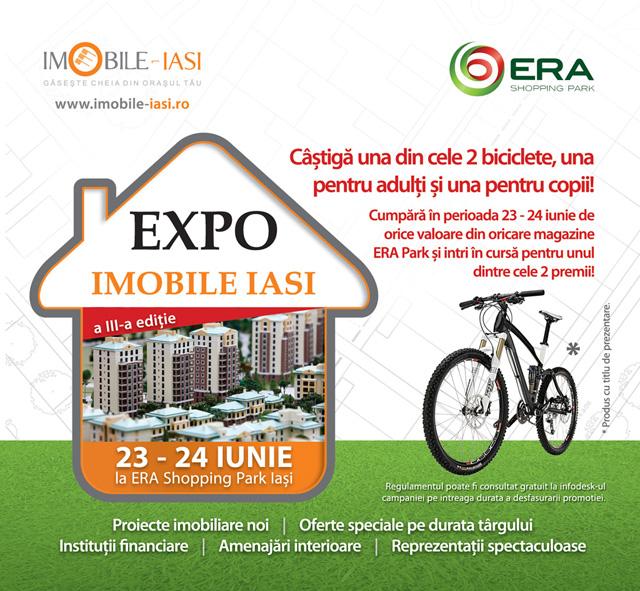 EXPO IMOBILE IASI @ ERA Park, 23 - 24 iunie