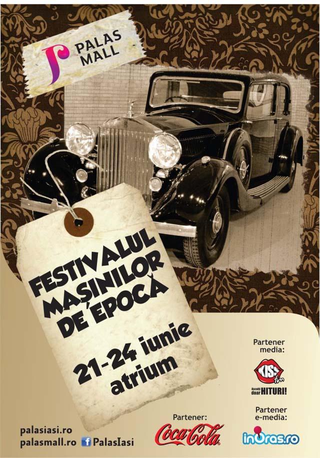 Festivalul masinilor de epoca - Palas Iasi