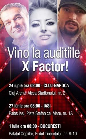 Preselectii X Factor Iasi