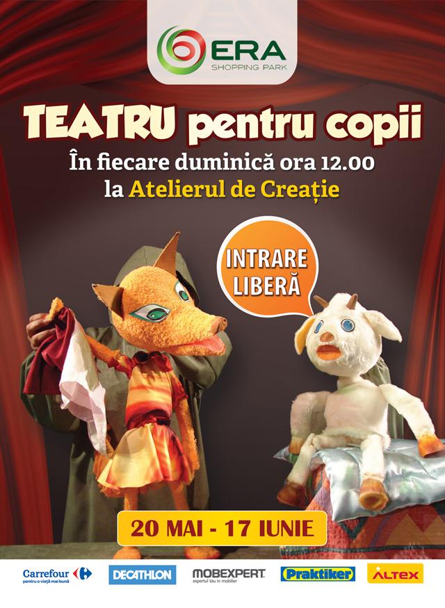 Teatru pentru copii la ERA Park