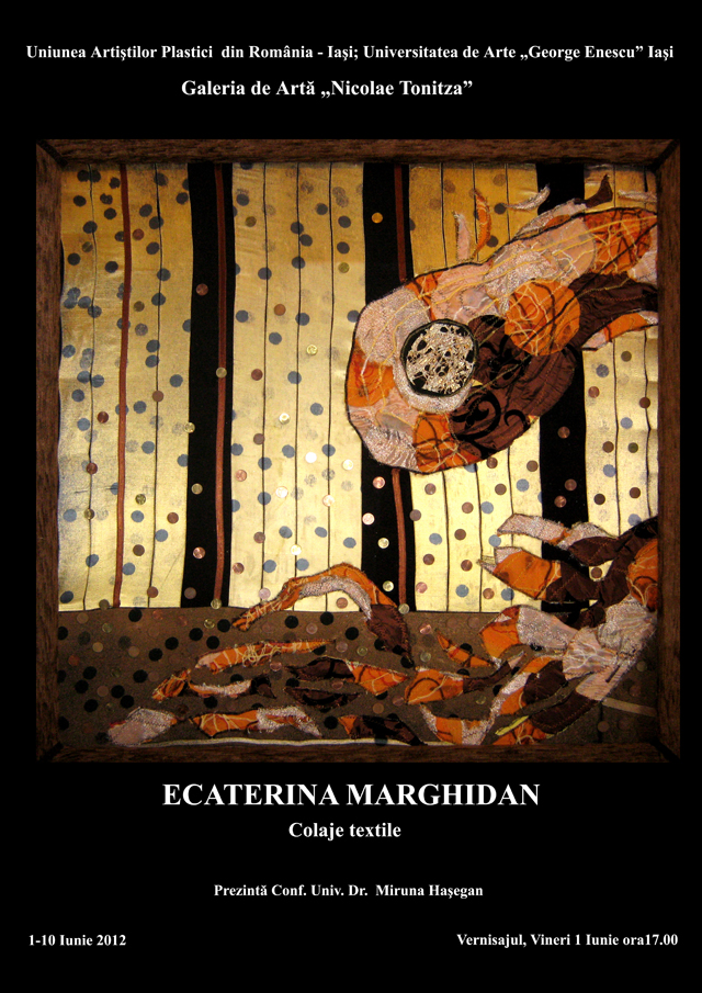 marghidan - expozitie de pictura si colaje textile