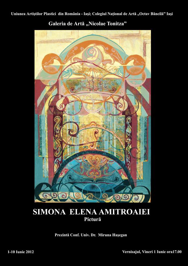 simona - expozitie de pictura si colaje textile