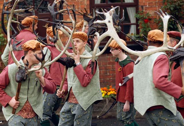 Dansul cornului - Abbots Bromley