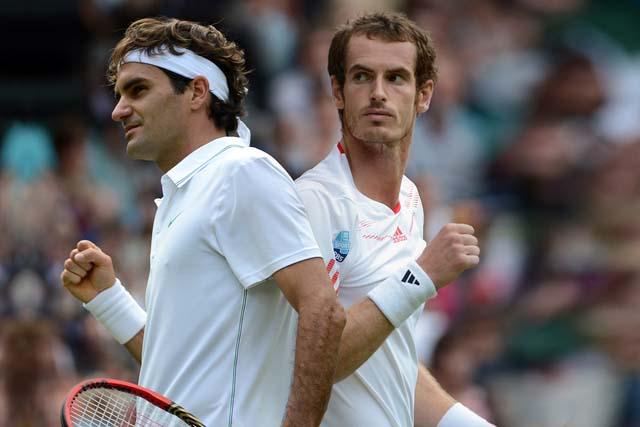 Federer si Murray - Wimbledon 2012