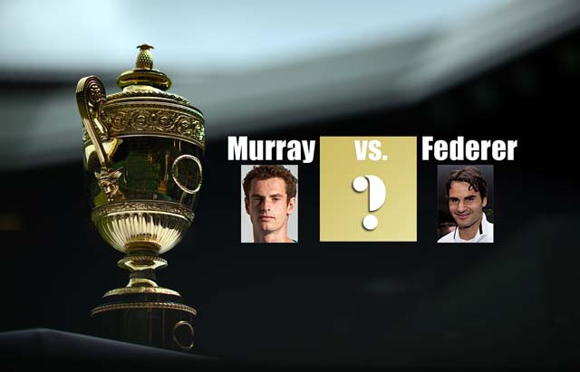 Federer vs Murray - Finala Wimbledon 2012