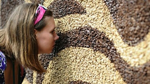 Mozaic din boabe de cafea3