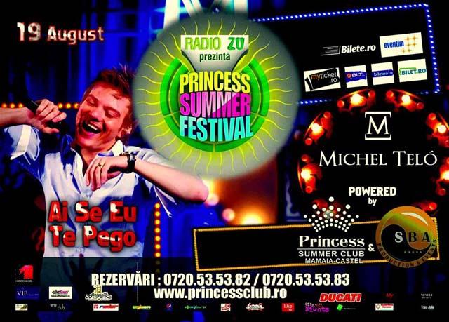Princess summer festival-Michel Telo