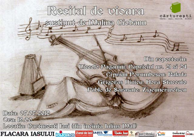 Recital de vioara - Malina Ciobanu