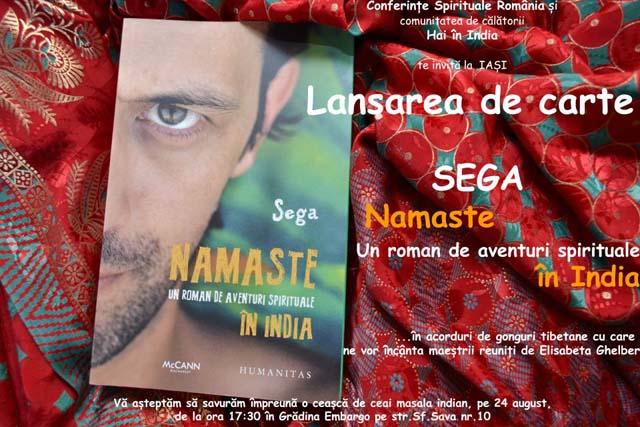 Sega - Namaste lansare Iasi