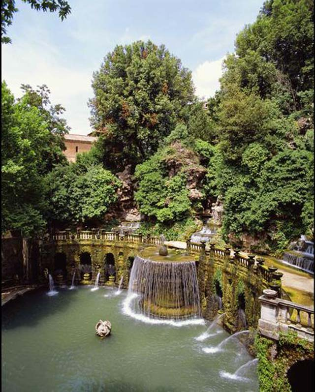 Tivoli Villa d'Este, Italia