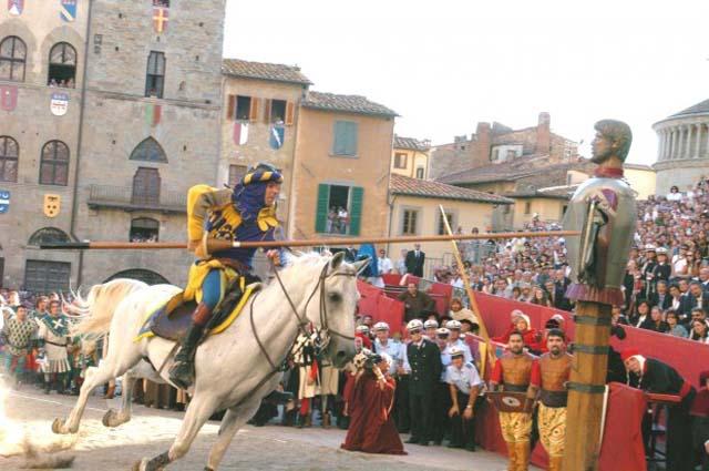 Turnirul Sarazinilor - Arezzo