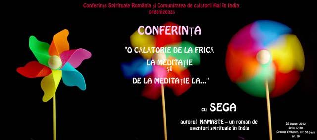 Conferinta Sega - Iasi, 25 august
