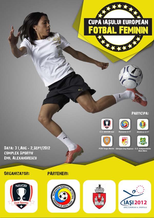 Cupa Iasului European - Fotbal Feminin