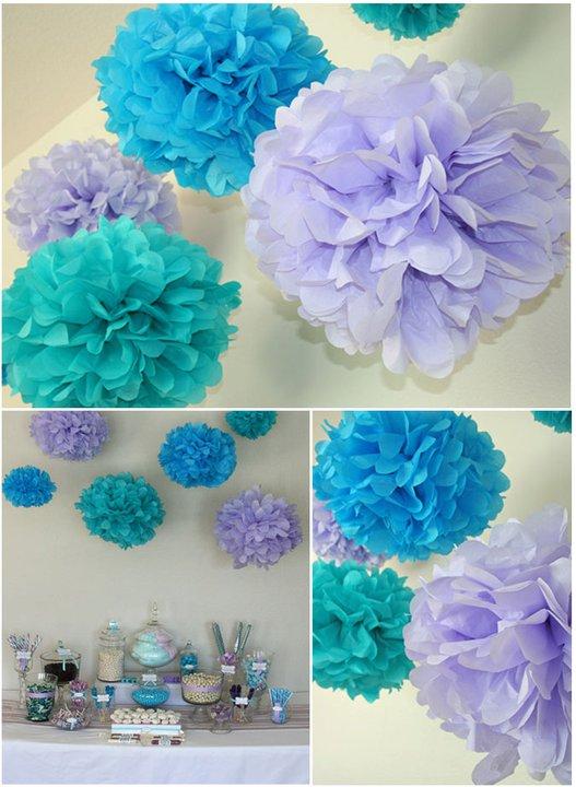 Decoratiuni din servetele - flori