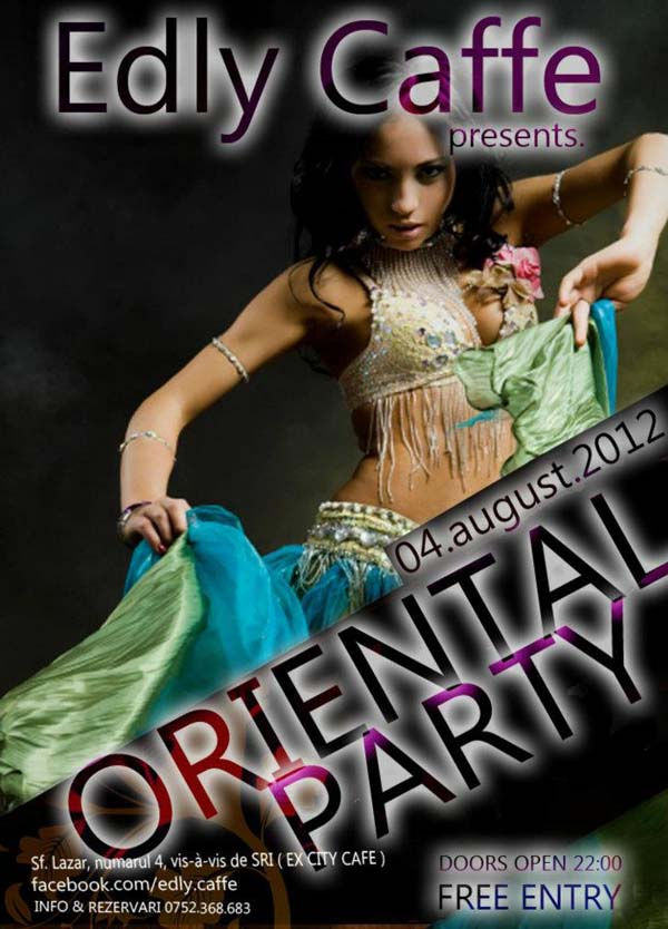 Oriental Party - Edly Cafe