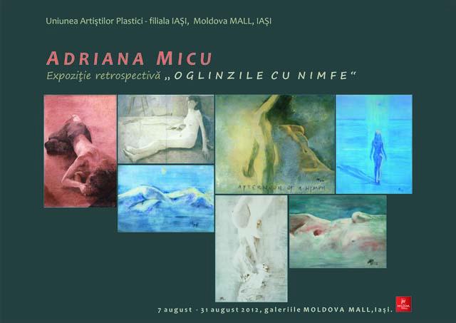 afis invitatie Adriana MICU