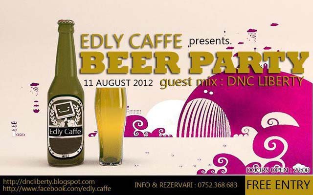 beer party la edly caffe