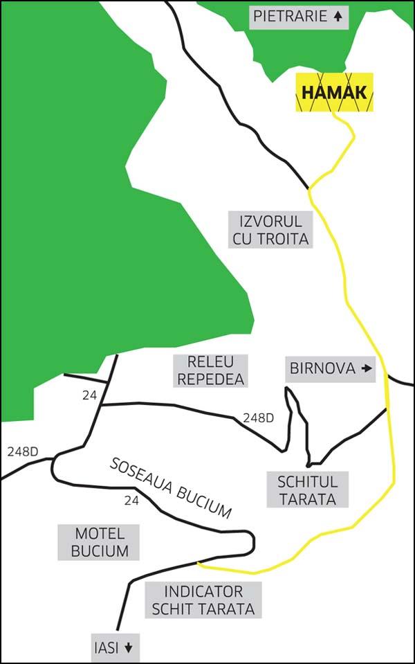 locatie HAMAK