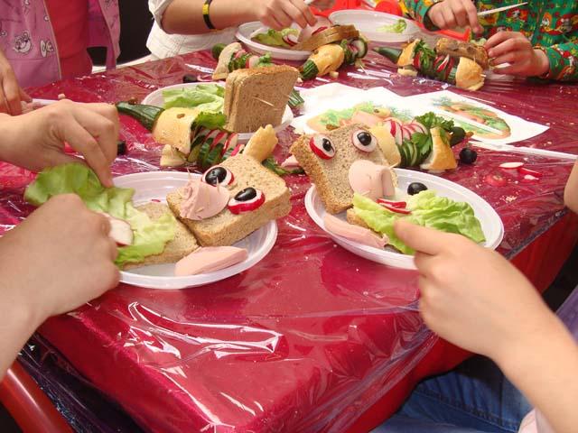 sandwich-uri decorative