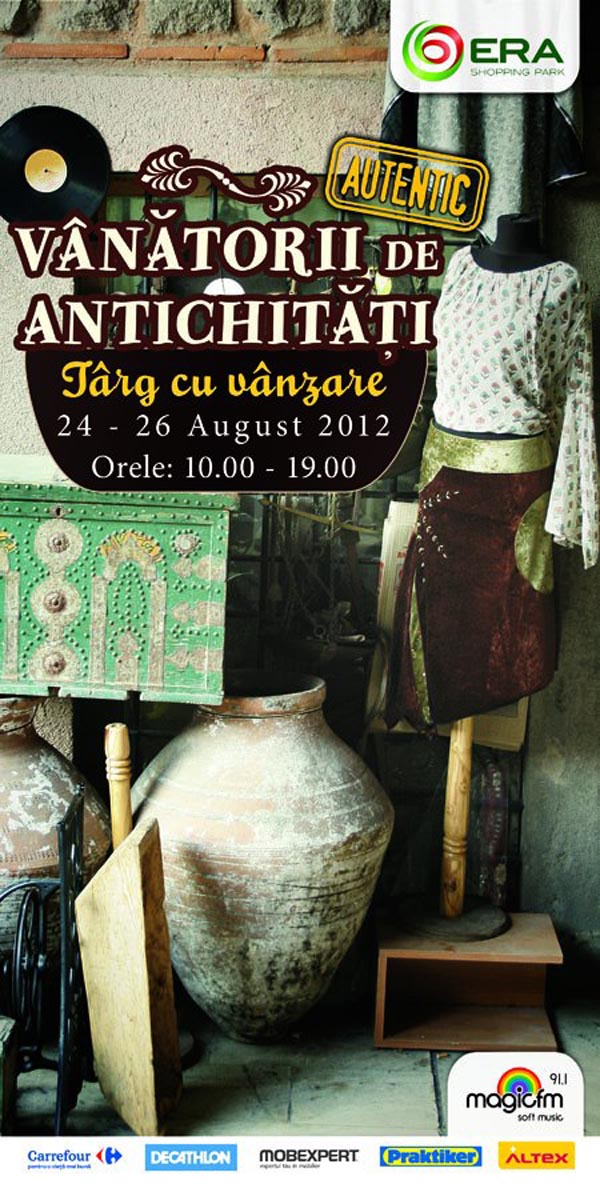 vanatorii de antichitati august