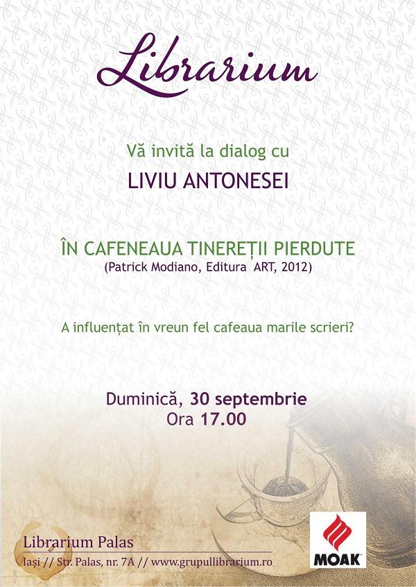 In cafeaua tineretii pierdute/ Dialog cu Liviu Antonesei/ Librarium